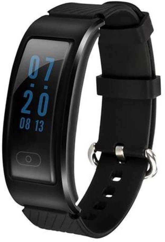 Omnix DF23 Fitness Band(Black, Pack of 1)