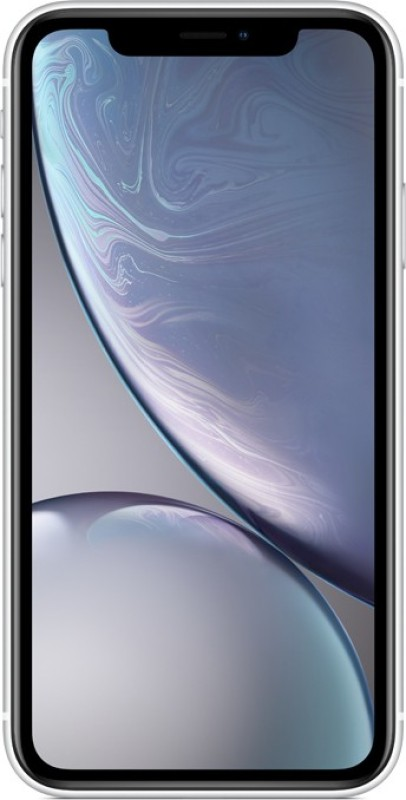 Apple iPhone XR (White, 64 GB) (Includes EarPods, Power Adapter)