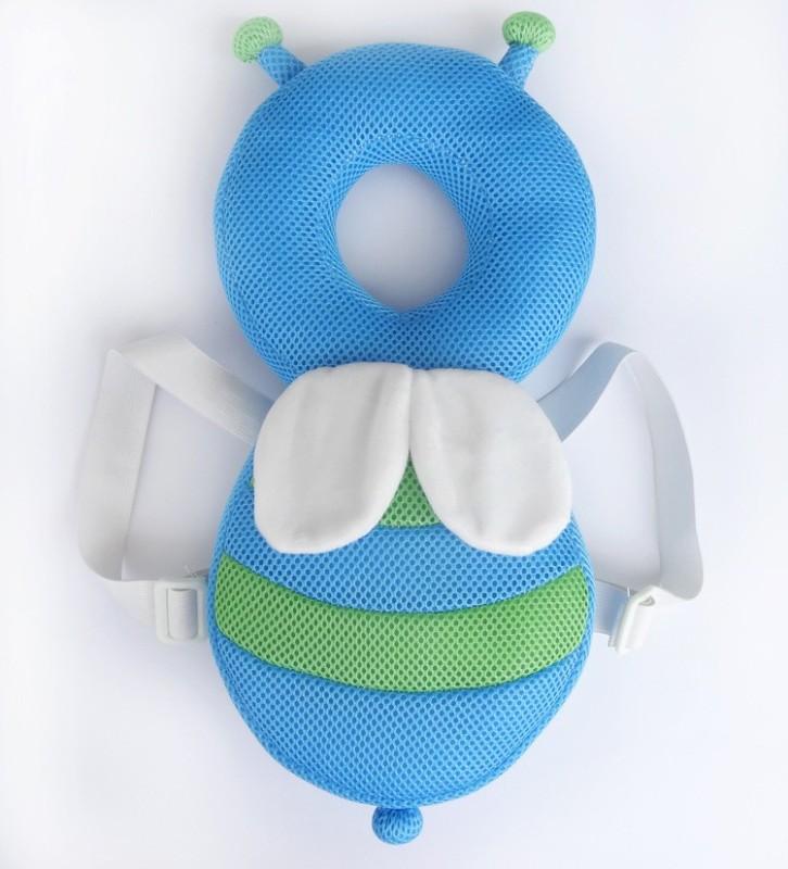 Kraptick Safety Baby Helmet(Blue Bee)