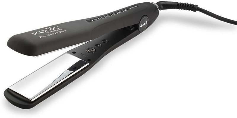 Ikonic Pro Titanium Shine Hair Straightener(Black)