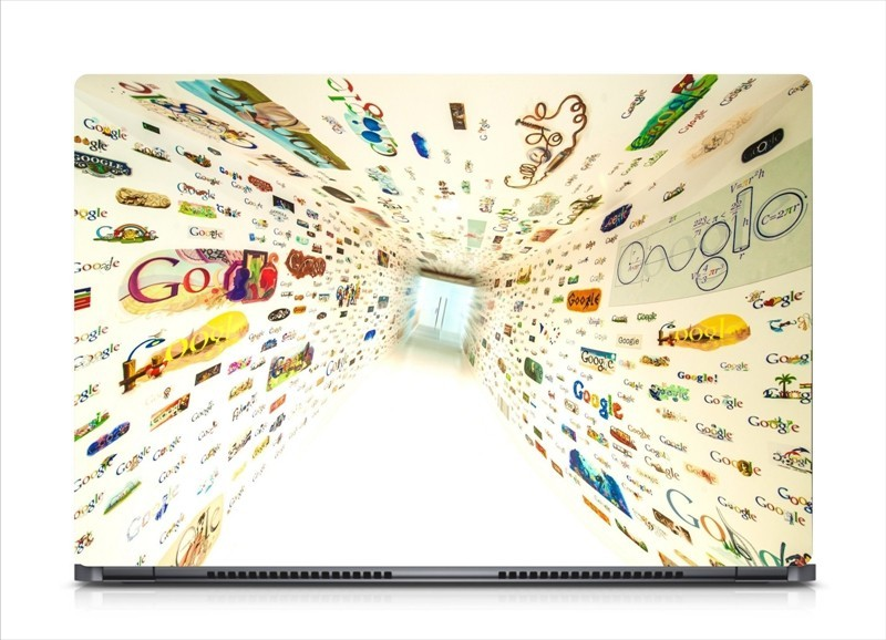 HD Arts Creative Google Way ECO Vinyl Laptop Decal 15.6