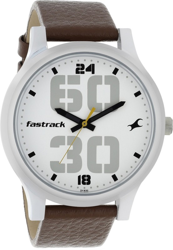 Fastrack 38051SL06 Bold Fonts Analog Watch - For Men