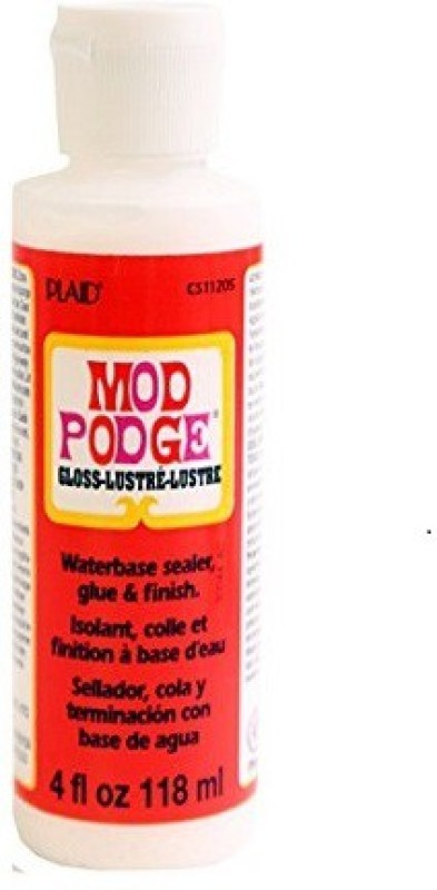 Plaid Inc CS11205T Gloss Finish Decoupage Medium(118 ml, Pack of 1)