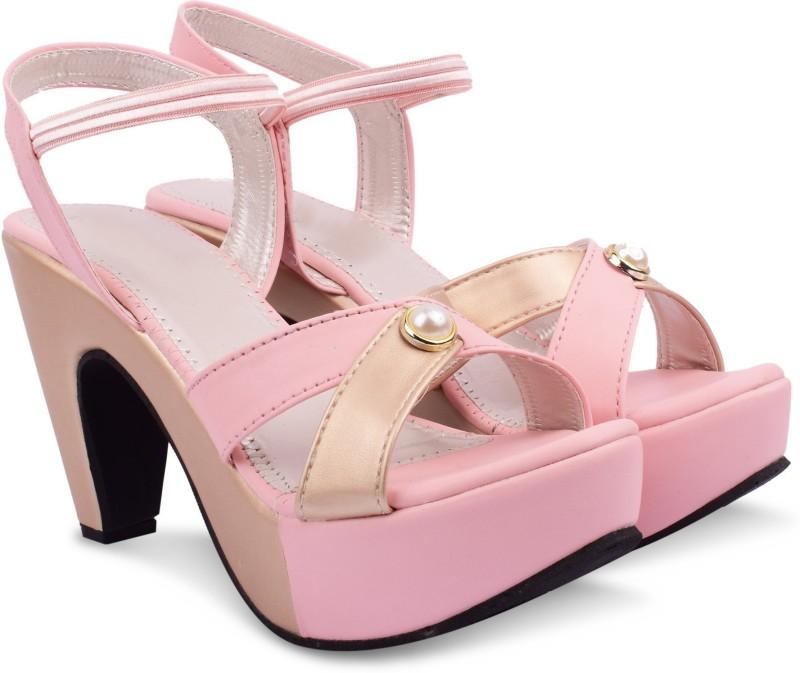 Denill's Women Pink Heels