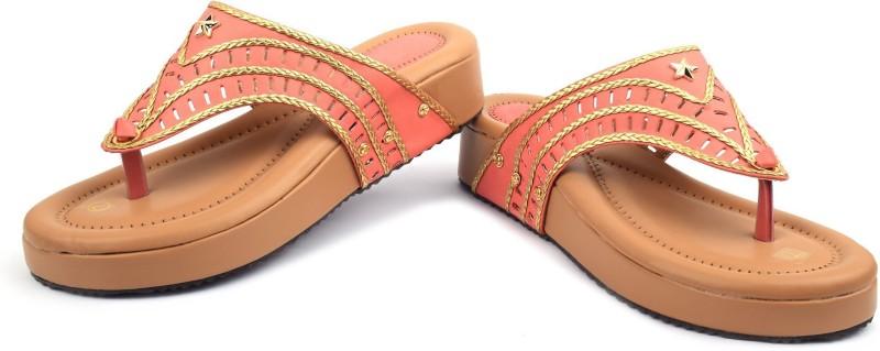 Denill Women Peach Heels