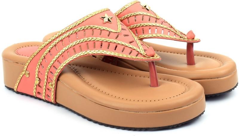 Denill's Women Peach Heels