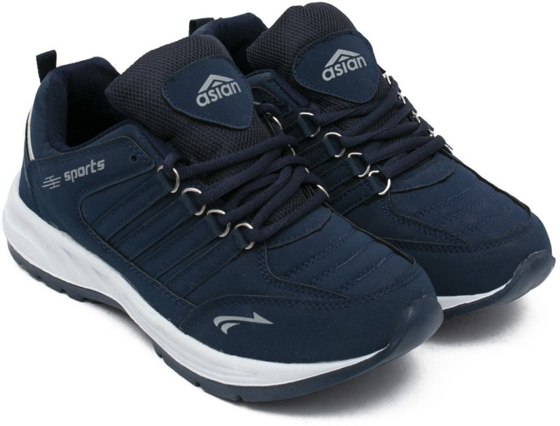 Asian Running Shoes For Men(Navy, Blue)