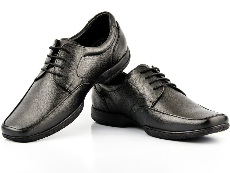 Lee Cooper Lace Up For Men(Black)