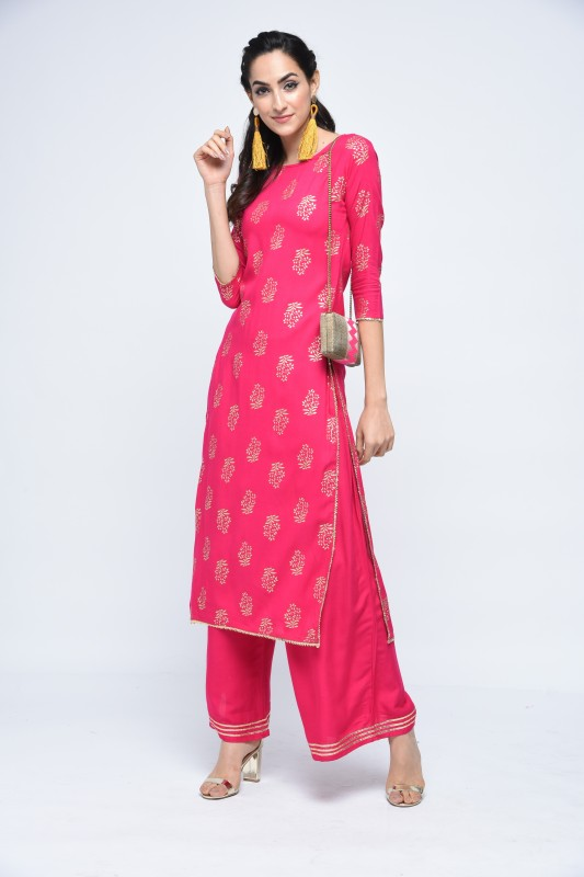 Stylum Women Kurta and Palazzo Set