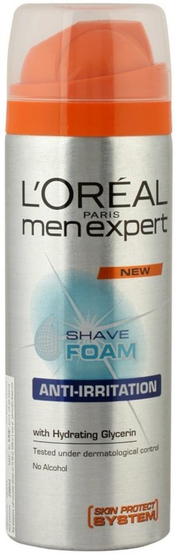 L'Oreal Men Expert Shaving Foam, Global Protection(200 ml)