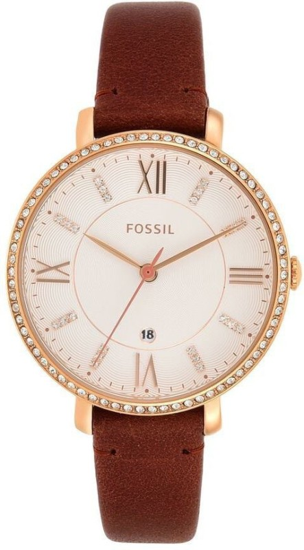 Fossil ES4413 Jacqueline Analog Watch - For Women