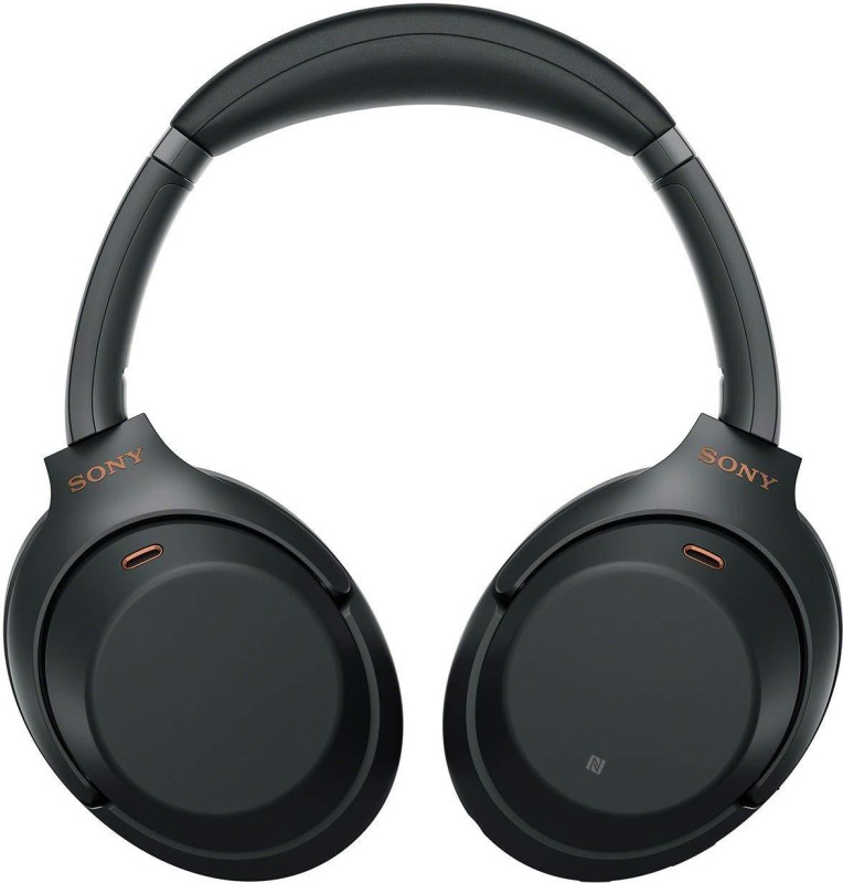 Sony WH-1000XM3 Bluetooth Headset with Mic(Black, Over the Ear)