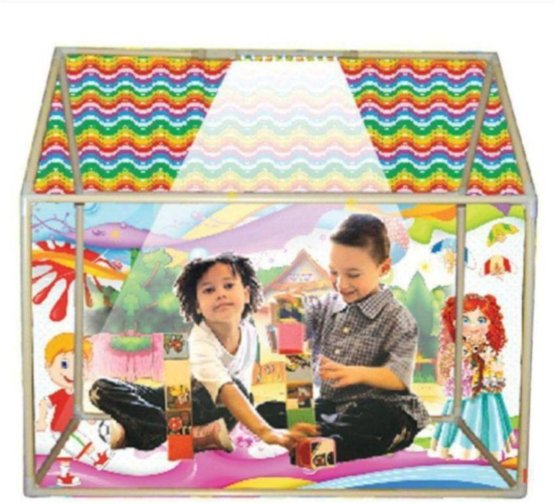 Xenith Led Light Play Tent House Tent - For 2(Multicolor)