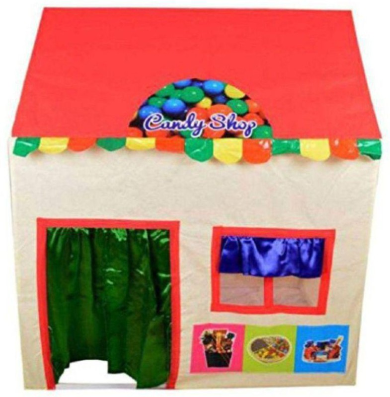 Xenith Chocolate Shop Tent For Kids Tent - For 2(Multicolor)