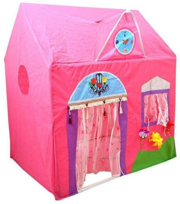 Xenith Jumbo Size Queen Palace Tent House for Kids Tent - For 2(Multicolor)