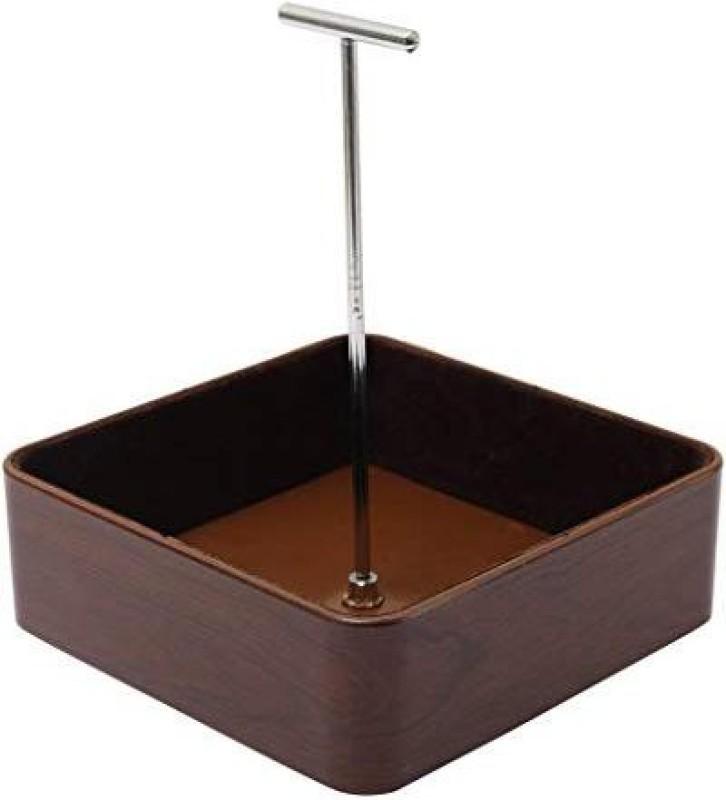 Eoan International walnut brown j-39 makeup, jewellery Vanity Box(Brown)