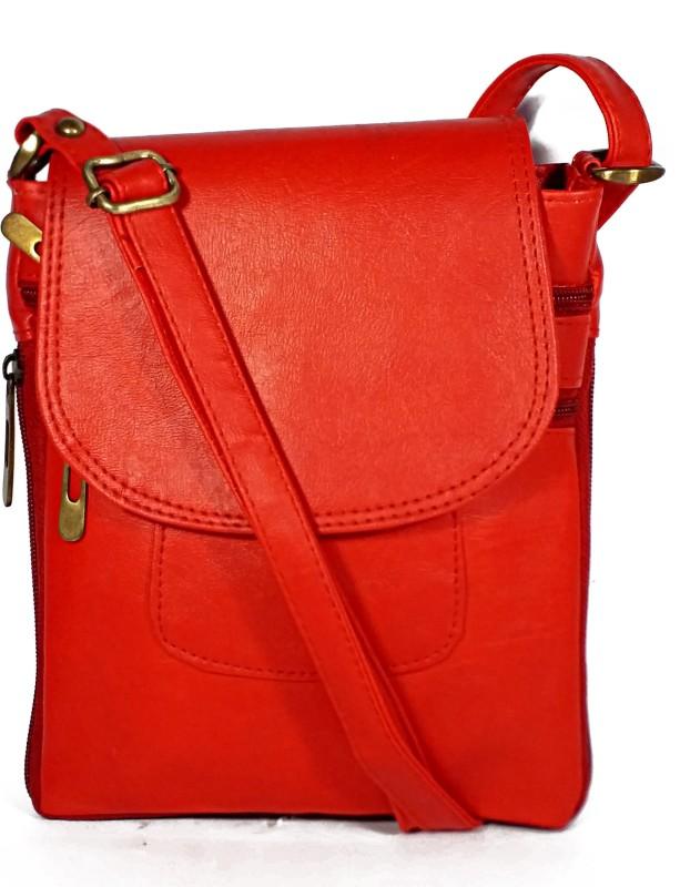 Dazzle Red Sling Bag