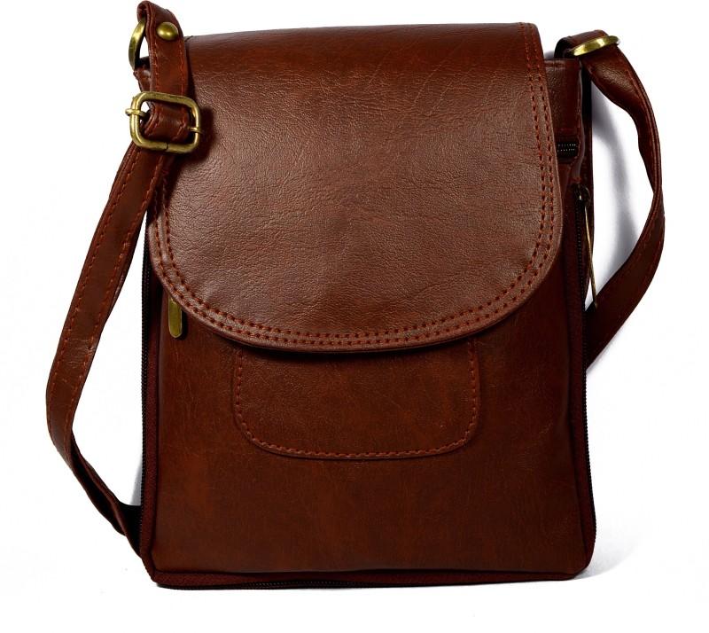 Dazzle Brown Sling Bag