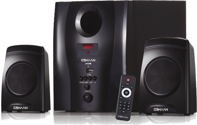 Oshaan Atom (2.1BT) 2.1 Home Cinema(Multimedia Home Theater System, Bluetooth Home Theater, Home Theater with Bluetooth)
