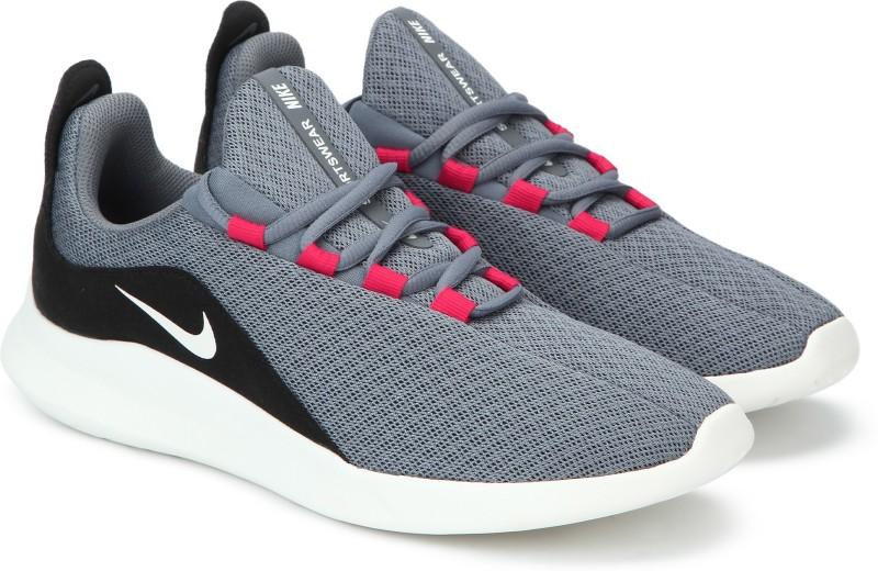 Nike VIALE Running Shoes For Men(Black, Grey)