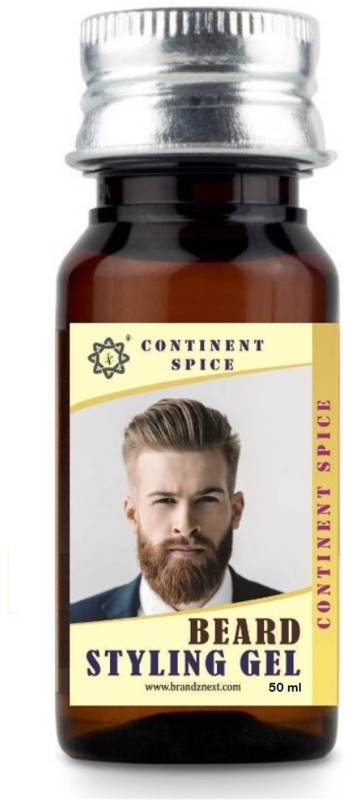 Continent Spice BEARD styling hair gel 50 ml Hair Gel(50 ml)