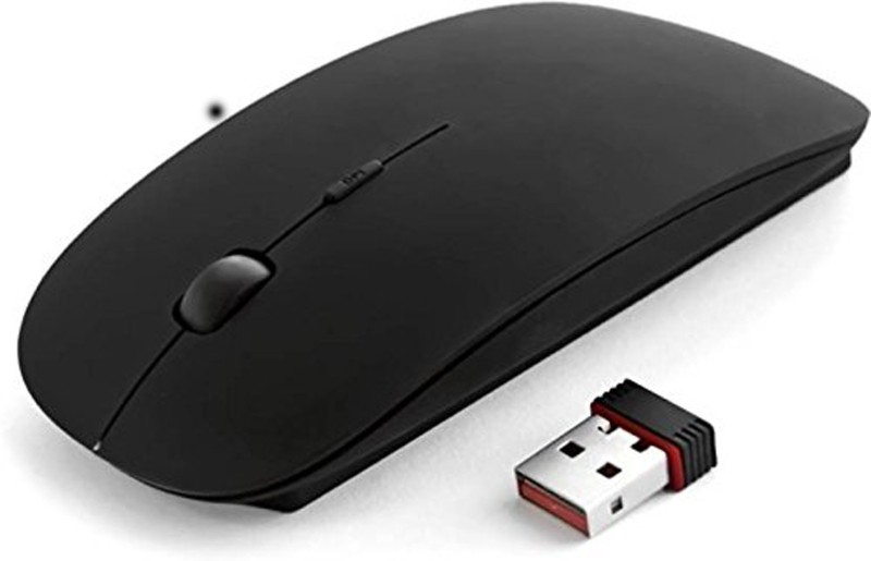 TECHON BWM-024 Wireless Optical Mouse(USB 2.0, Black)