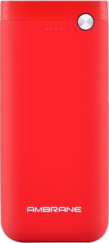 Ambrane 20000 mAh Power Bank (PP-20)(Red, Lithium Polymer)