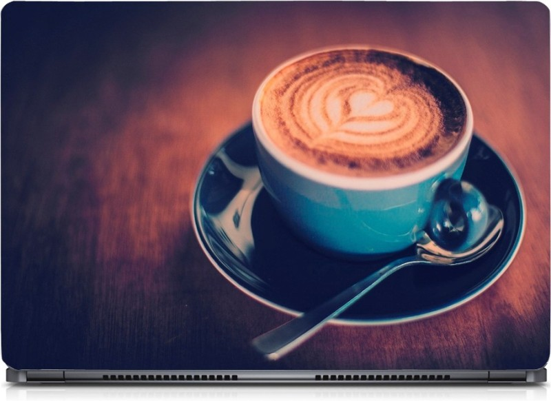 HD Arts Coffee Cup ECO Vinyl Laptop Decal 15.6