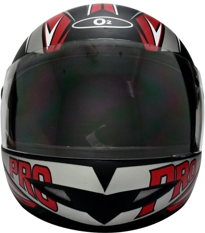 O2 MAX PRO P2 Motorbike Helmet(Black)