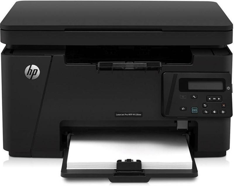HP M 126 Nw Multi-function Monochrome Printer(Black, Toner Cartridge)