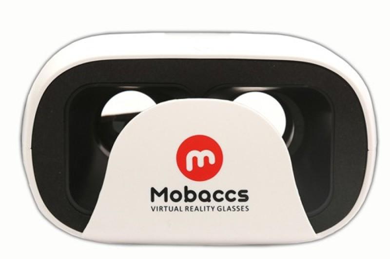 Mobaccs Virtual Reality Headset 3d View VR Box HD 13 Smart Glasses (White)(Smart Glasses)