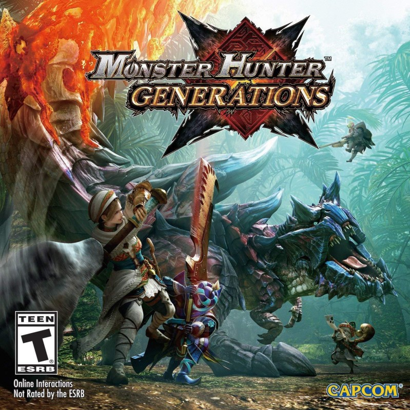 Monster Hunter Generations - Nintendo 3DS Standard Edition (standard)(game, for 3DS)