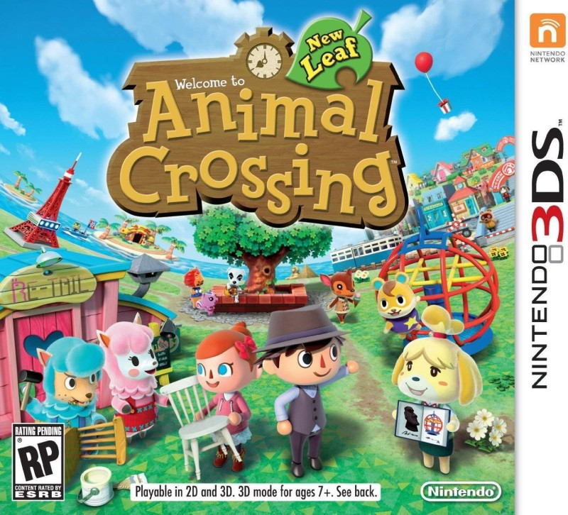 Animal Crossing: New Leaf - NINTENDO 3DS (NTSC) (ORIGINAL)(GAME, for 3DS)