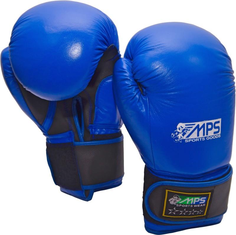MPS box01 Boxing Gloves (L, Blue)