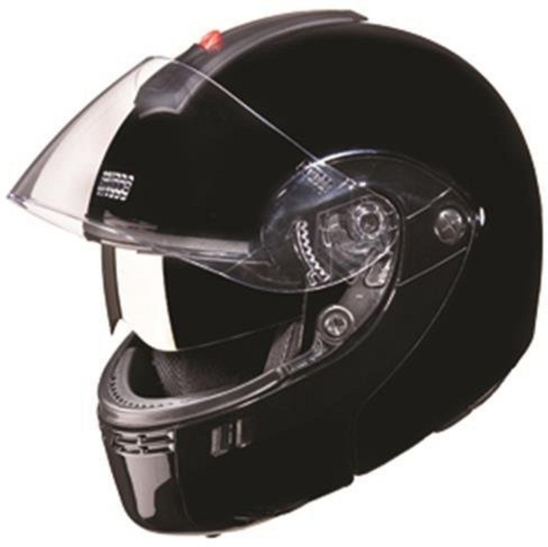 Studds Ninja 3G Full Face Helmet with Double Visor(Black, XL) Motorbike Helmet(Black)