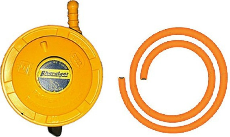 BONDAD HUB High Pressure Gas Cylinder Regulator(Iron, PVC (Polyvinyl Chloride))