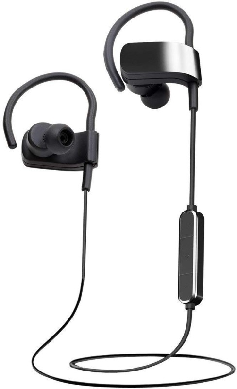 Impro Wireless Headphones Sweatproof Cordless Earbuds Handsfree Bluetooth Headset with Mic(Black, In the Ear)