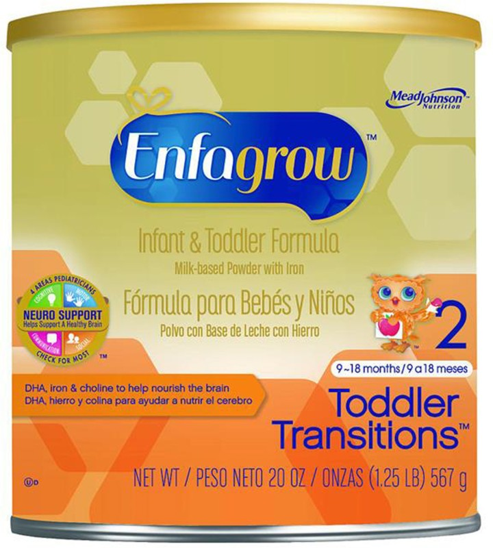 Enfagrow Toddler Transitions 2 Infant & Toddler Formula - 567G (20oz)(567 g, 9+ Months)