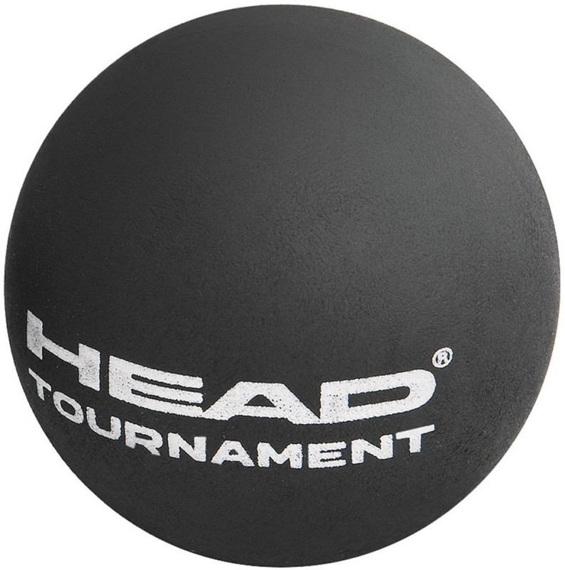 Head Tournament Single Dot Squash Ball(Pack of 2, Multicolor)
