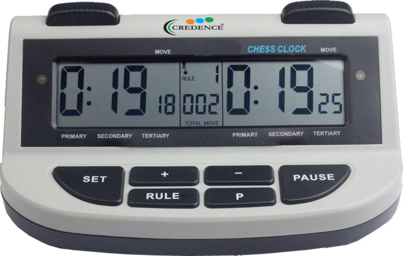 Credence LCD Digital Chess Clock