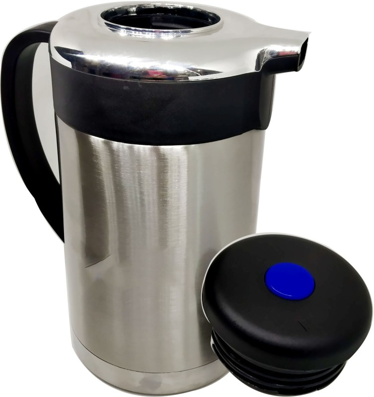 Blue Birds NEW ARRIVAL GOOD quality Stainless Thermo Steel Air Tight Leak Resistant Double-Wall Vacuum Insulated Coffee,Tea, Beverage Coffee Pot, Jug Flask Capacity-1.3 L Multipurpose Special Gift Pack, Self Use; and Diwali, Dhanteras & Festive Gifts Pot 1.3 L with Lid(Stainless Steel, Non-stick, In