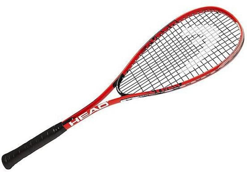 Head Cyber Edge Multicolor Strung Squash Racquet(Standard, 350 g)