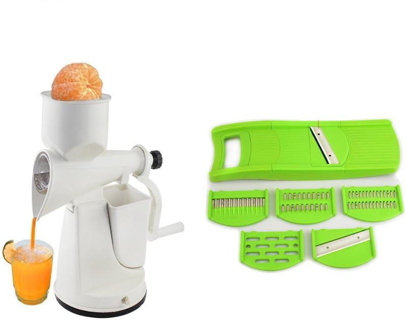 Magikware Juicer + 6 In 1 Slicer Juicer + 6 In 1 Slicer Kitchen Tool Set