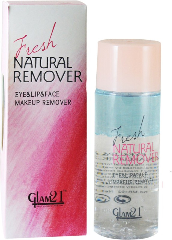 Glam 21 Fresh Natural Eye,Lip&Face Makeup Remover MR102 Makeup Remover(100 ml)