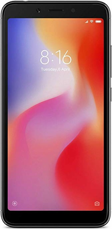 Redmi 6A (Black, 32 GB)(2 GB RAM)