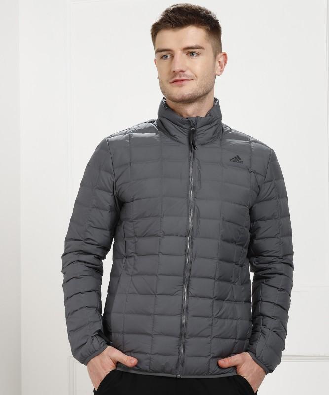 ADIDAS Full Sleeve Solid Men Jacket