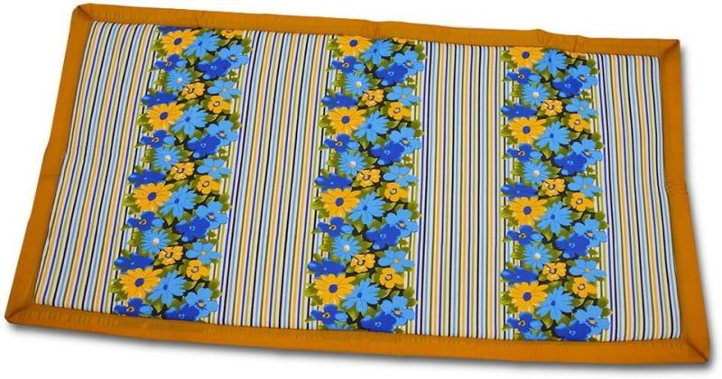 Kala Darshan Crafts Bazaar Cotton Chatai Mat(Multicolor, Medium)