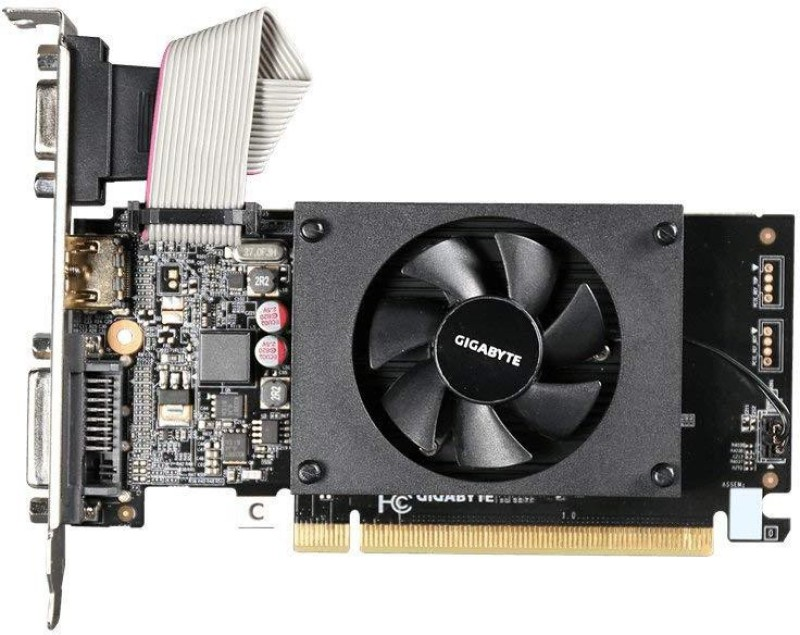Gigabyte NVIDIA GV-N710D3-2GL 2 GB DDR3 Graphics Card