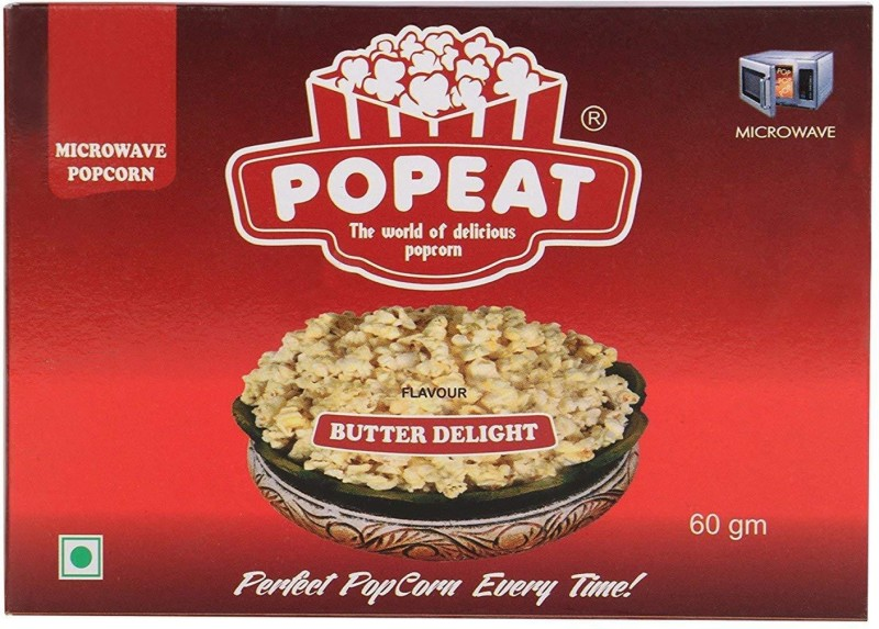 PopEat Butter Delight Butter Delight Popcorn(360 g, Pack of 2)