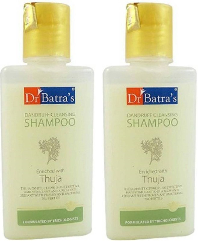 Dr. Batra's Dandruff Cleansing Shampoo Enriched With Thuja (200 ML) Pack of 2(200 ml)